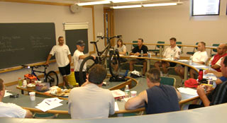 Bike Patrol classroom July 08