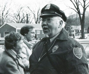 """Hap"" Milne, Security Officer, Circa 1970s"