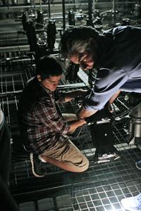 Williams College Summer Theatre Lab lighting grid