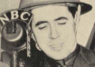Archival image of John MacVane, class of 1933, radio war correspondent for NBC.
