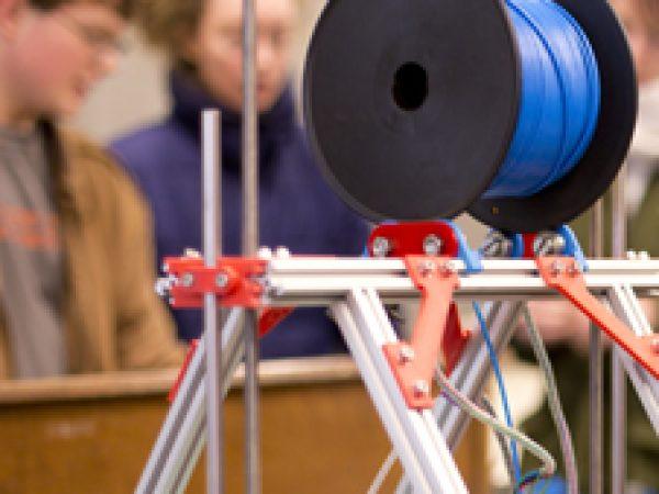 Image for 3D Printer Debuts