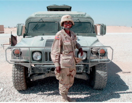 Kathy Sharpe Jones, Williams Class of 1979, served as the psychologist member of a Combat Stress Team on a forward-operating base near Najaf, Iraq, in 2005.