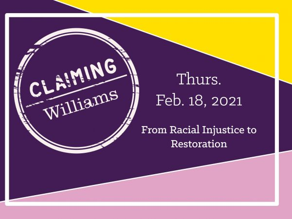 Image for Claiming Williams 2021
