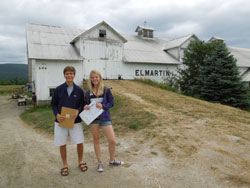 David Nolan, Williams Class of 2013, and Samantha Murray, Class of 2014
