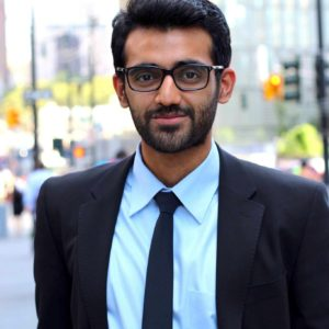 Photo of Hamza Farrukh, Williams Class of 2015, who is installing solar-powered wells around the globe to bring water to under-served regions.
