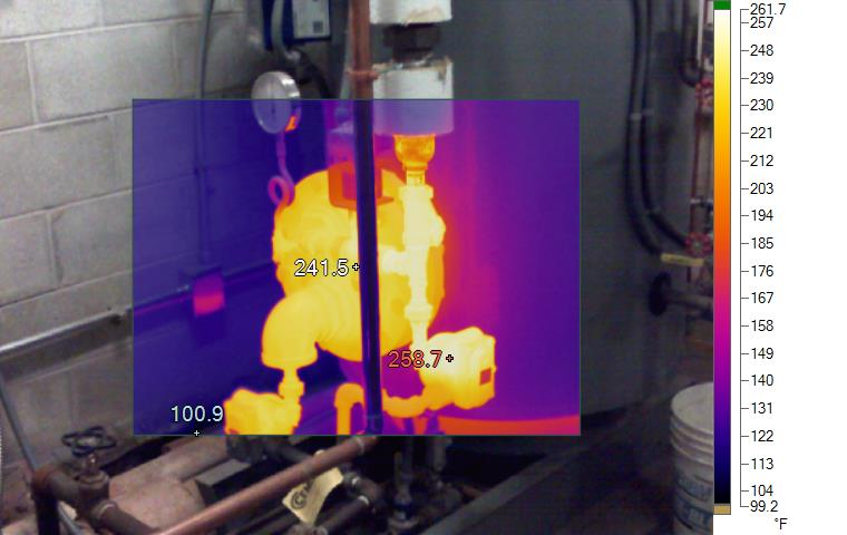 Thermal Image of Sage Hall Water Heater