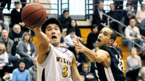 Basketball guard James Wang, Class o 2012
