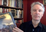 A screenshot of Professor Magnus Bernhardsson speaking about books important to him.