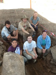 Williams Students in Omrit, Israel