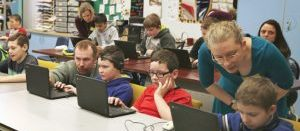 Image for Teaching Coding in Pownal Elementary School