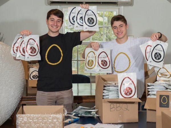 Image for Zack Schreier '21 Wins 'Shark Tank' Deal For Quevos Startup
