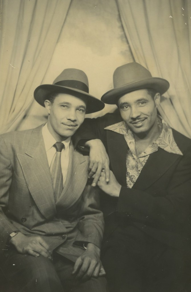 A 1956 photograph of the Rios Brothers from Professor Merida Rua's book A Grounded Identidad