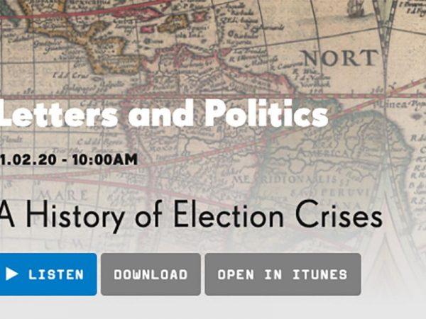 Image for A History of Election Crises – Alan Hirsch radio interview