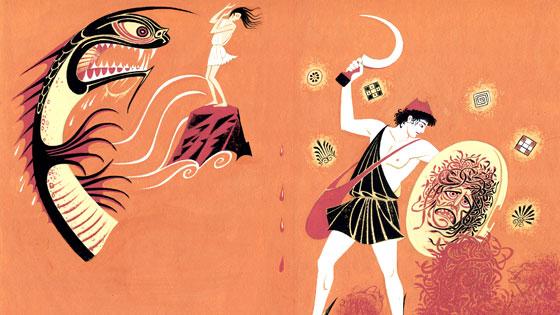 Greek Heroes by Pauline Baynes