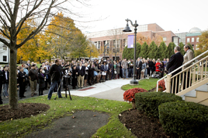 Davis Center dedication