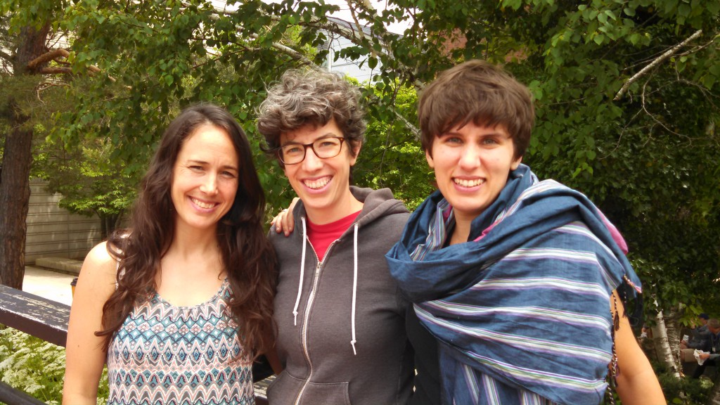 Heather Foran , Annie Moore, and Jen Lazar