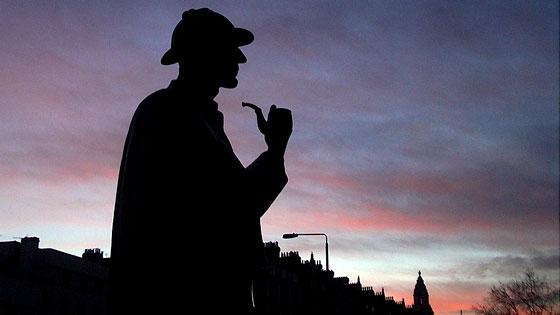 Sherlock Holmes silhouette