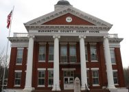 Photo of Washington County courthouse in Tennessee