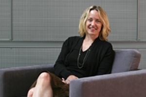 Political science professor Nicole Mellow