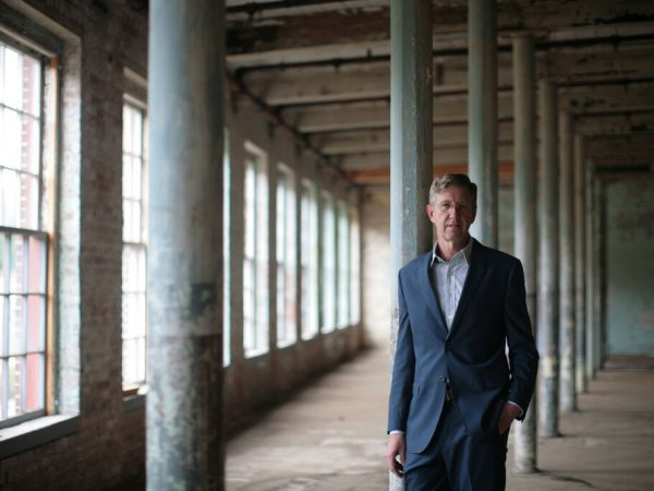 Image for Joe Thompson '81: Director of Mass MoCA, Playground for Artists, Moves On