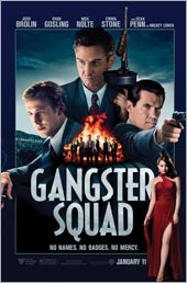 Movie poster of Gangster Squad, based on the book by Paul Lieberman, Williams Class of 1971