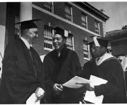 duke ellington and sterling a. brown, Williams Class of 1922, at Howard University