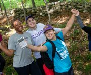students celebrate Mountain Day in 2021