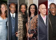 A composite image shows 6 profiles of Black trustees from major art museums.